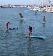 if u were at Pete Dorries clinic yesterday you would have learned how to turn a board into a underwater rocket
